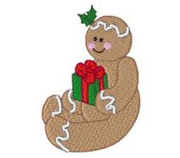Gingerbread Present