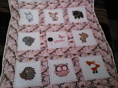 Animal applique and embroidery top drawer the uk s