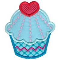 Hello Cupcake Applique