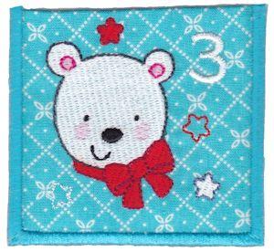 machine embroidery advent calendar