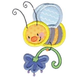Busy Bees Applique 6