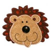 Button Nose Applique