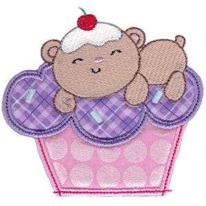 Cupcake Critters Applique 12