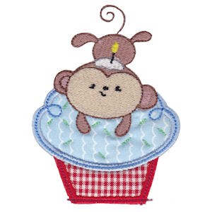 Cupcake Critters Applique 13