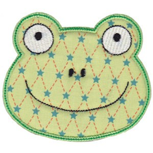 Cute Animal Faces Applique 11