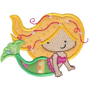 Magical Mermaids Applique 11