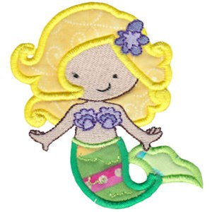 Magical Mermaids Applique 3