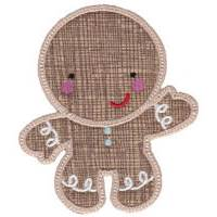 Sweet  Ginger Applique