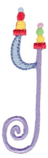 Dangles Lower Case Alphabet y