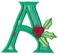 Holly Alpha Applique