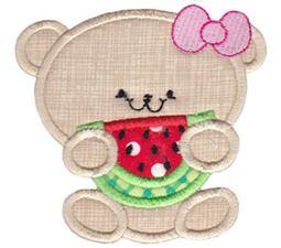 2 Cute Bears Applique 4