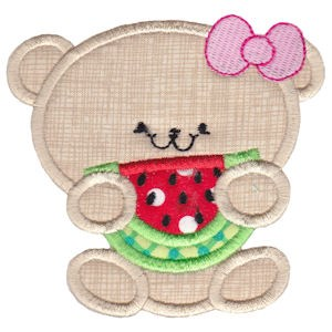 2 Cute Bears Applique 4