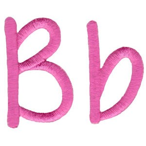 All Things Pink Alphabet B
