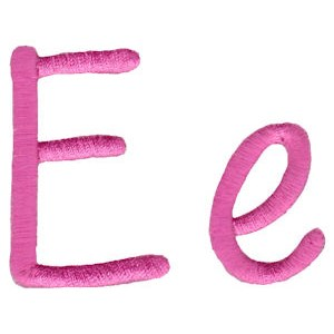 All Things Pink Alphabet E