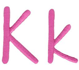 All Things Pink Alphabet K