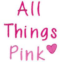 All Things Pink Alphabet