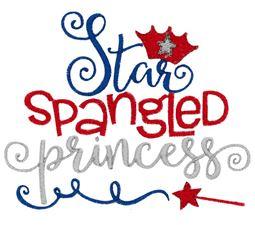 Star Spangled Princess