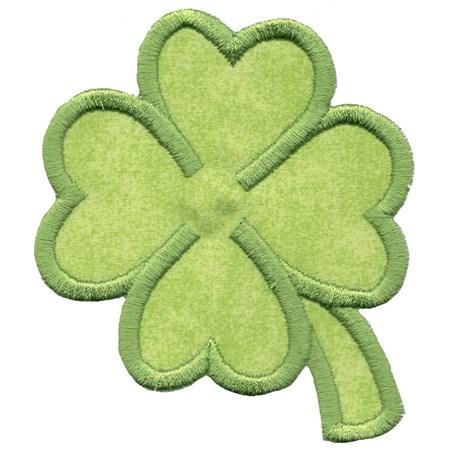 Four Leaf Clover Applique