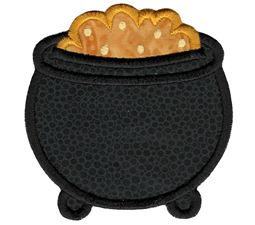 Pot Of Gold Applique