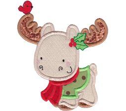 Applique Christmas Animals 5