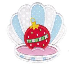 Applique Christmas Oyster
