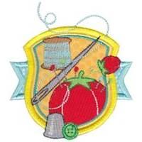 Badge It Applique