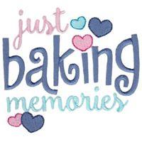Just Baking Memories