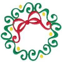 Baroque Swirly Christmas