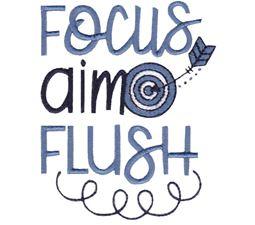 Focus Aim Flush