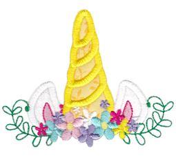 Unicorn Crown Applique