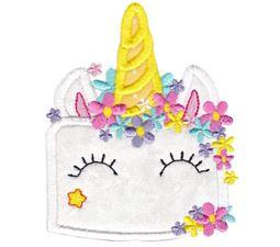 Unicorn Cake Applique