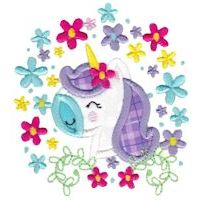 Embroidery Design Set - Be A Unicorn
