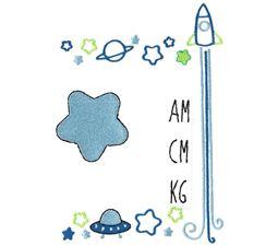 Space Birth Announcement Metric am