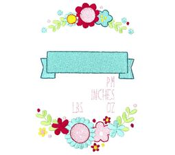 Floral Birth Announcement US pm