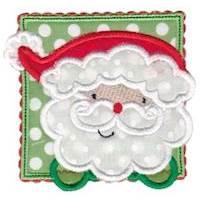 Box Christmas Applique