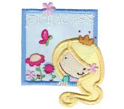Princess Girl Applique