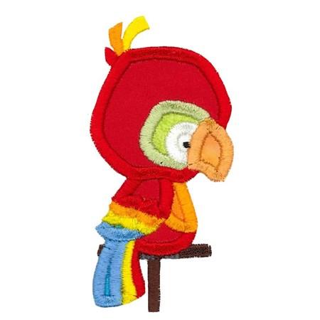 Parrot Applique