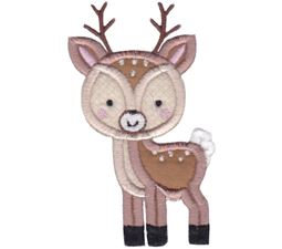 Boxy Deer Applique