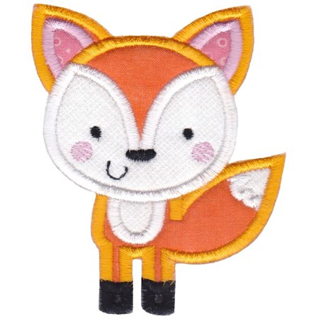 Boxy Fox Applique