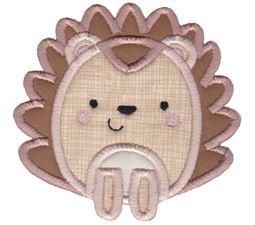 Boxy Hedgehog Applique
