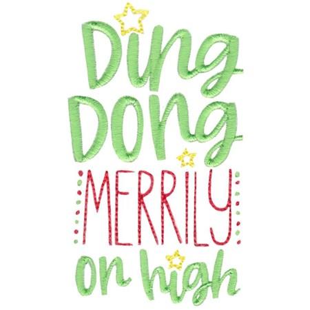 Christmas Carols Sentiments Too 6