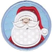 Christmas Coasters Applique