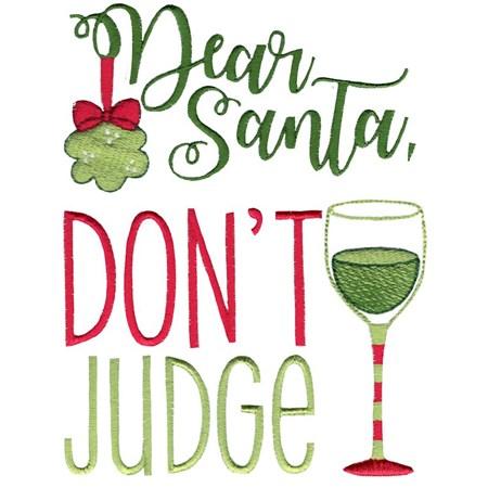 Dear Santa Don't Judge