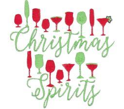 Split Christmas Spirits