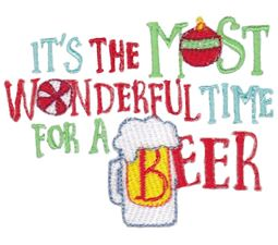 It;s THe Most Wonderful Time For A Beer