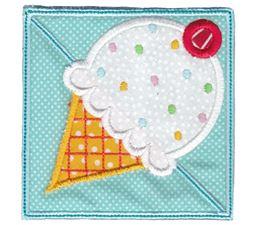 Ice-Cream ITH Corner Bookmark