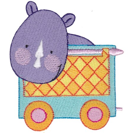Cute Animal Train 13