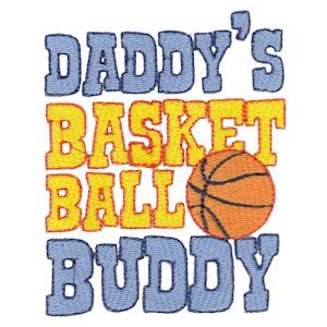 Embroidery Design Set - Daddys Buddy Sentiments 11
