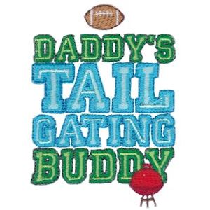 Embroidery Design Set - Daddys Buddy Sentiments 3
