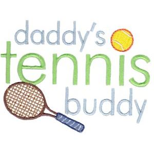 Embroidery Design Set - Daddys Buddy Sentiments 6